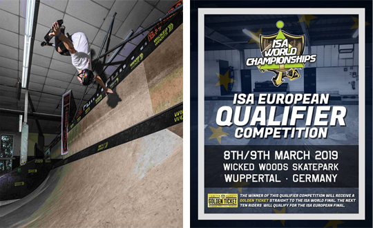 Wicked Woods | Austragungsort der ISA European Qualifier Competition am 09. März 2019