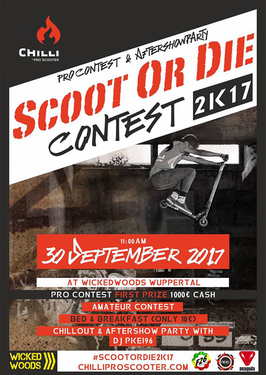 Scoot Or Die - Contest 2017